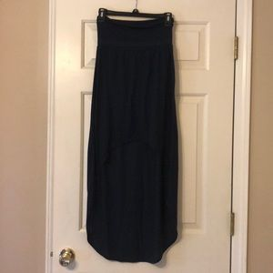 Small Aeropostale Navy High-Low Skirt
